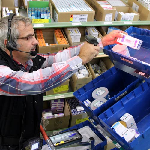 Prepare orders fast, ensure logistics traceability