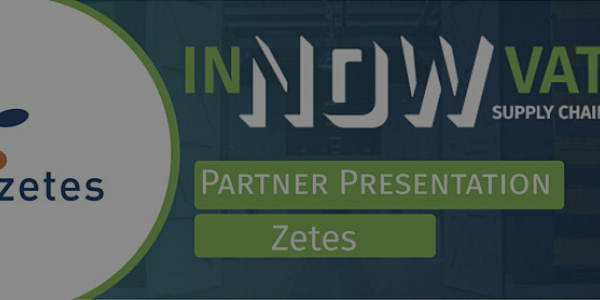 InNOWvate the supply chain event with a partner presentation by Zetes Netherlands