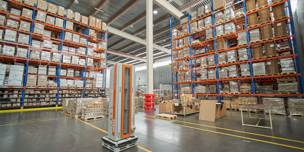 Zetes Full Pallet Inventory solution