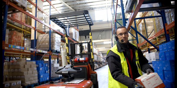 Efficiency & ergonomics at L'Oréal warehouse get a boost