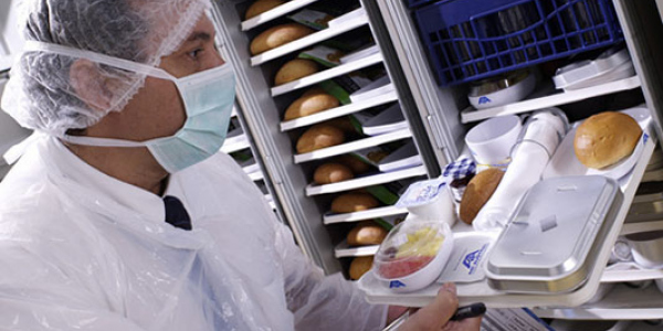 Servair automates monitoring of aircraft meal trays with Zetes