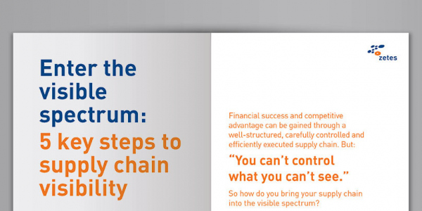5 Key Steps to Supply Chain Visibility