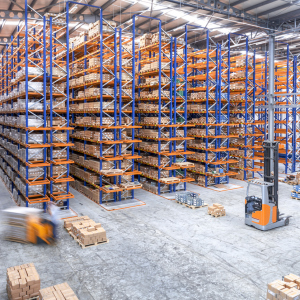 Warehouse in activity