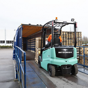 Mitsubishi Caterpillar Forklift Europe realises zero-stock operations with RFID